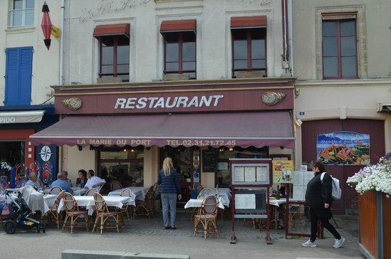 La Marie du Port : Restaurant