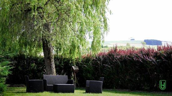 Hotel Restaurant Lamy : Jardin