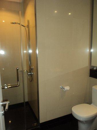 E&O Residences Kuala Lumpur : grils bathroom - smaller but fine