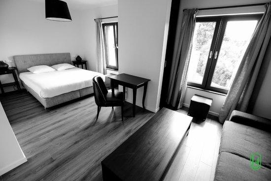 Hotel Restaurant Lamy : Chambre confort baignoire