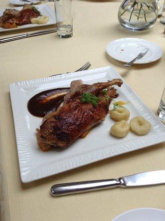 Restauracja Dom Polski : Knusprige Ente