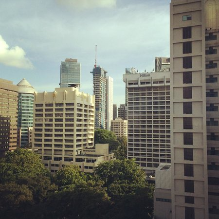 Pan Pacific Orchard: View from my room...