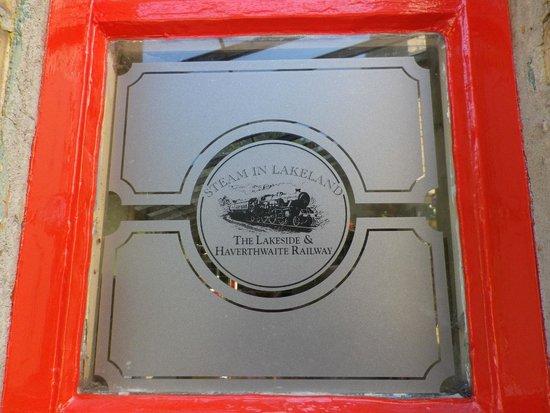 Lakeside & Haverthwaite Steam Railway: The Railway Logo