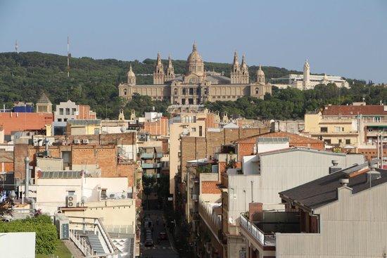 Expo Hotel Barcelona: вид из номера