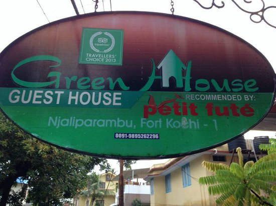Green House Home Stay: You can call them to make a reservation directly