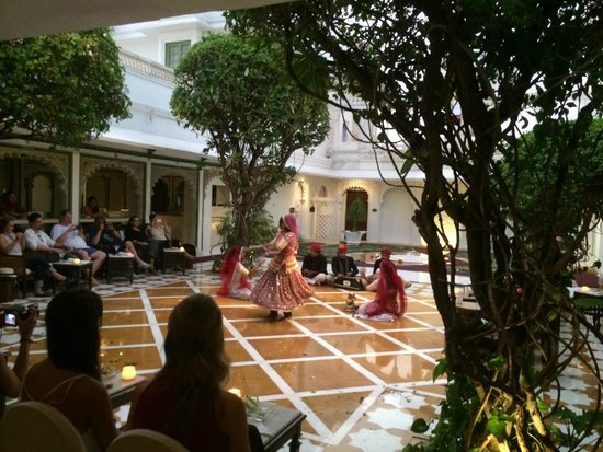Taj Lake Palace Udaipur: Evening cultutal program