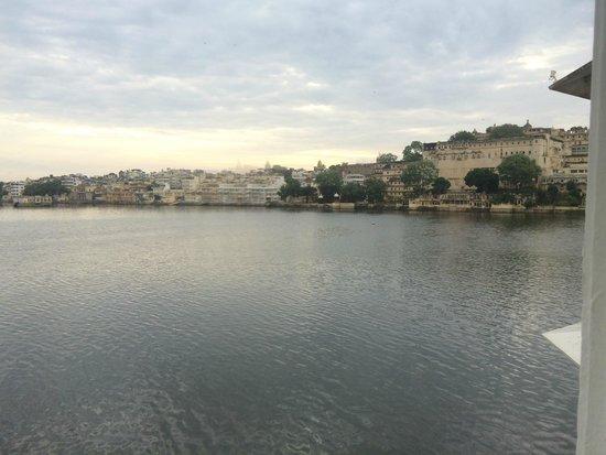 Taj Lake Palace Udaipur: View from room
