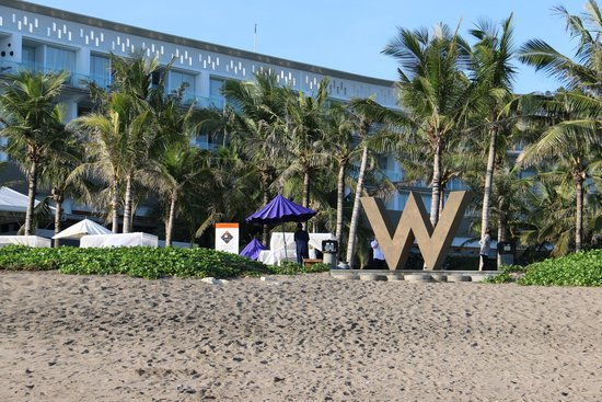 W Bali - Seminyak: From the beach