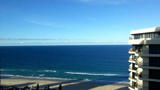 Hotel Grand Chancellor Surfers Paradise: Beautiful view