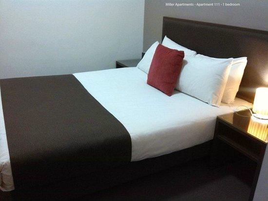 Miller Apartments Adelaide: Bedroom