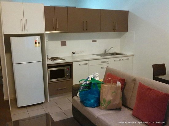 Miller Apartments Adelaide: Kitchenette