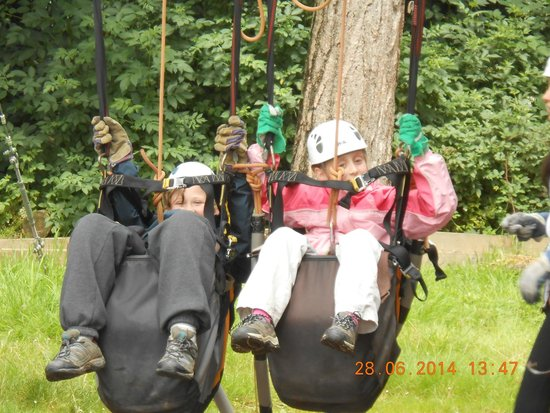 The Adventure Rope Course: Giant Swing