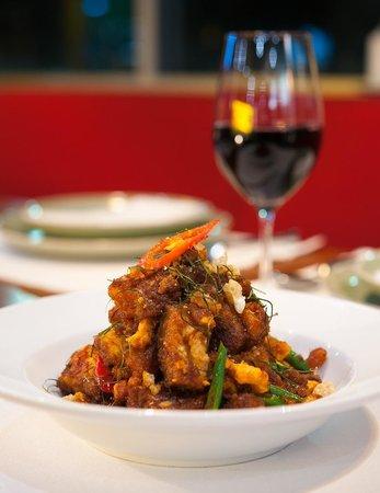 Chedi Thai: Crispy Pork Belly w/ Red Curry Paste