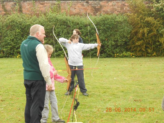 The Adventure Rope Course: Archery