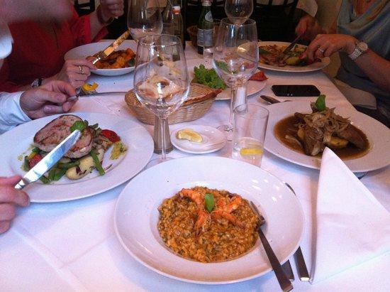 Da Aldo : shrimps risotto
