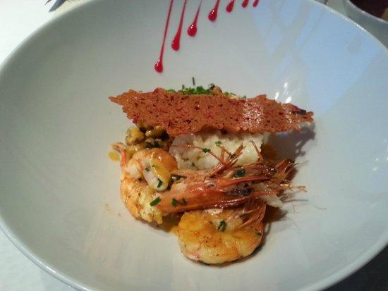 Le sweet restaurant : Entrée : risotto