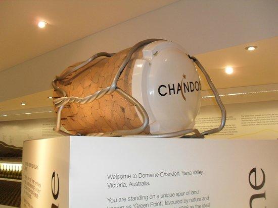 Domaine Chandon: A giant cork