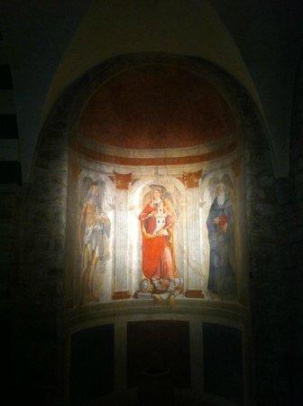 Affreschi di Domenico Ghirlandaio nella Pieve di Sant'Andrea a Cercina