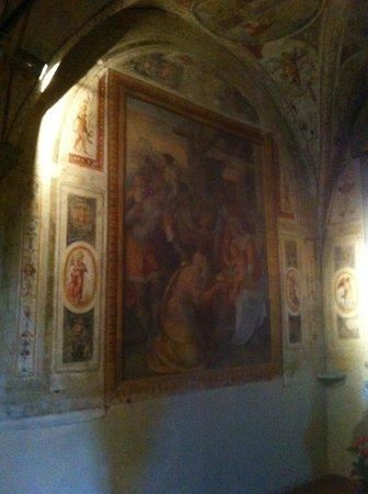 Affreschi nella Pieve di Sant'Andrea a Cercina