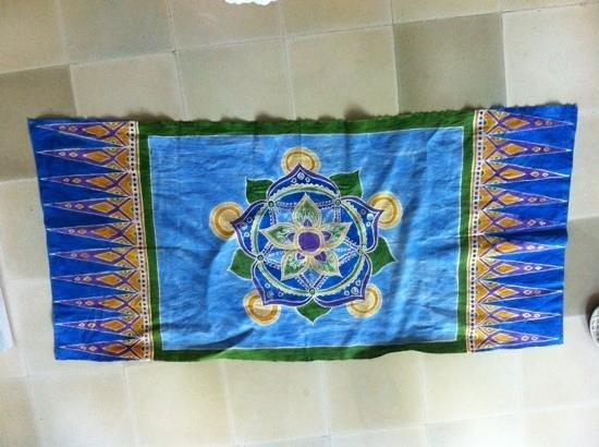 Widya's Batik: finished product
