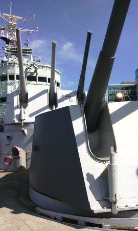 South Bank: HMS Belfast
