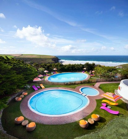 Bedruthan Hotel & Spa: Fancy a dip?