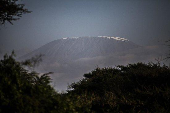 View of Kilimanjaro from Tawi Lodge