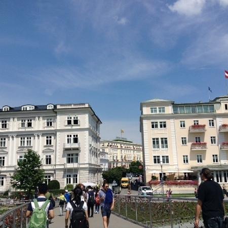 Bristol Hotel Salzburg: hotel in centre