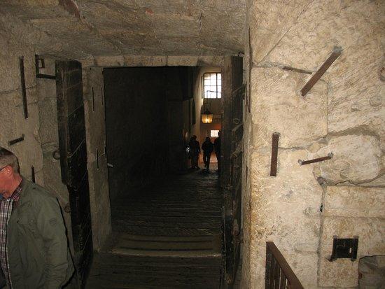 Castillo de Sant'Angelo: L inizio dell'itinerario di visita