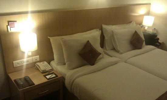 The Theme, Jaipur: Dlx Twn bed room