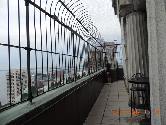 Marriott's Custom House: Observation deck