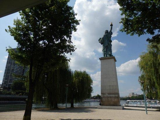 Statue de la Liberté  : vue générale