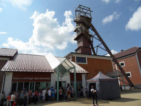 Bochnia Salt Mine: Wejście do kopalni
