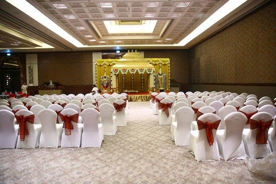 ITC Grand Chola, Chennai: Banquet Hall - Served extrordinarily well for Hindu ceremonies