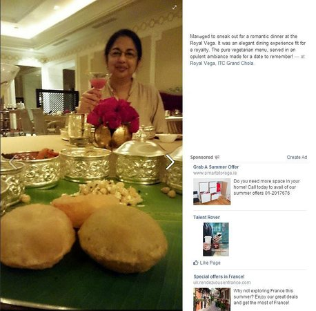 ITC Grand Chola, Chennai: The royal Royal Vega experience. Truly delightful for this Vegetarian family!
