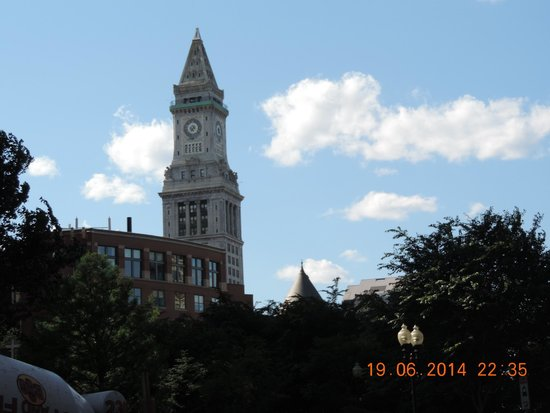 Marriott's Custom House: The Marriott Custom House Clock Tower