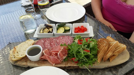 Bedford Lodge Hotel & Spa: Italian Meat Platter