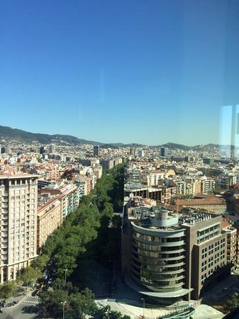 Gran Hotel Torre Catalunya: some of the views feom the top floor panoramic view restaurant