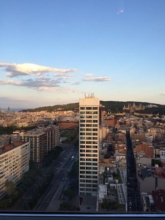 Gran Hotel Torre Catalunya : some of the views feom the top floor panoramic view restaurant