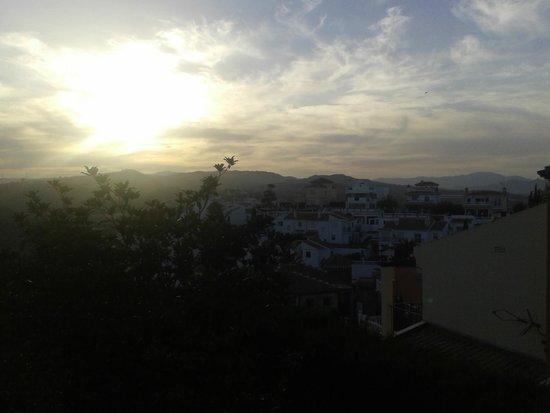 Villa al Alba: atardecer