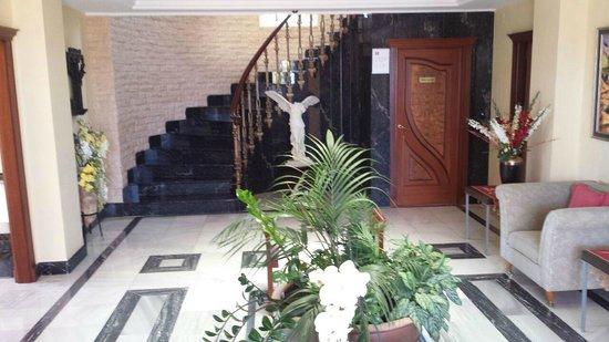 Villa al Alba: hall de entrada