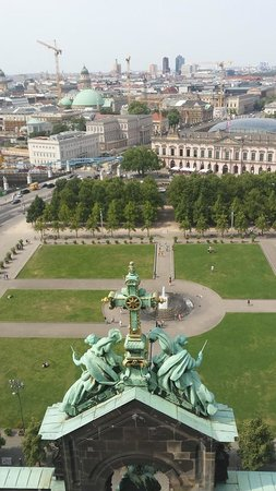 Berlin Cathedral: Berliner Dom view from the top