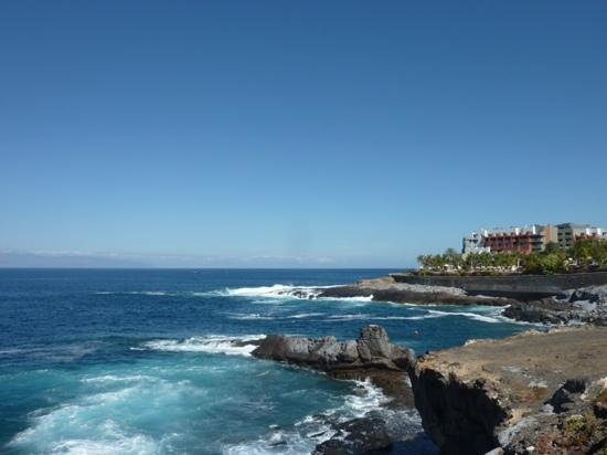 Bahia Principe Tenerife: Sea view along the path just past the Costa Adeje hotel