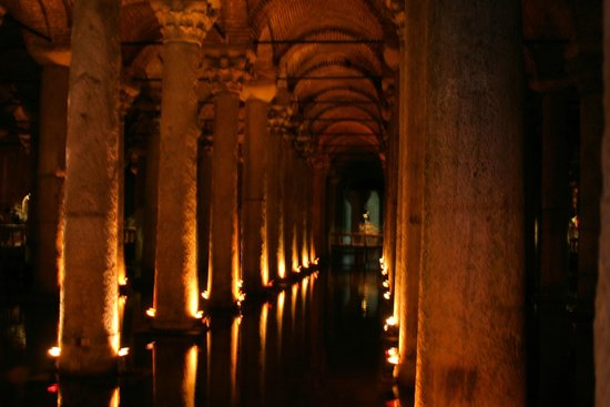 Historic Areas of Istanbul: Basilica Cistern columns