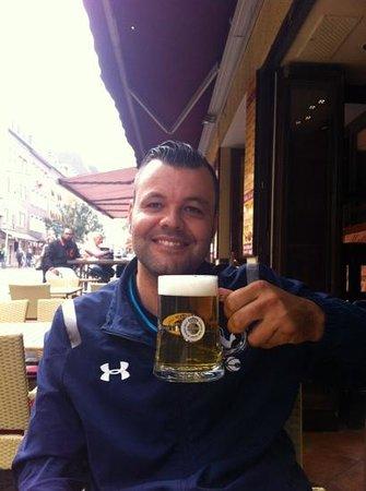 Melia Duesseldorf: pint of german beer lovely