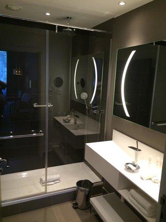 Radisson Blu Hotel, Nantes : 2ème salle de bain de la suite
