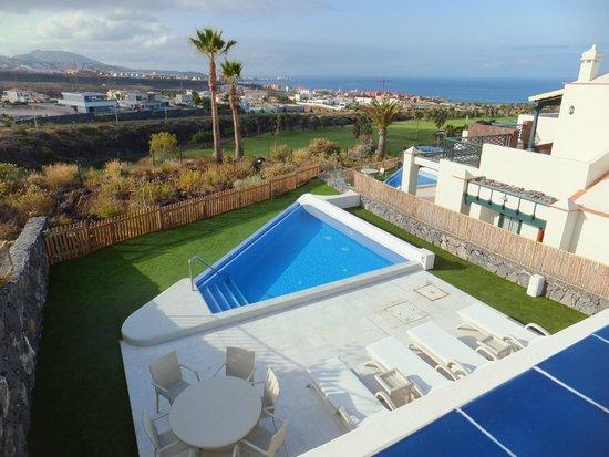 Hotel Suite Villa María: View from balcony