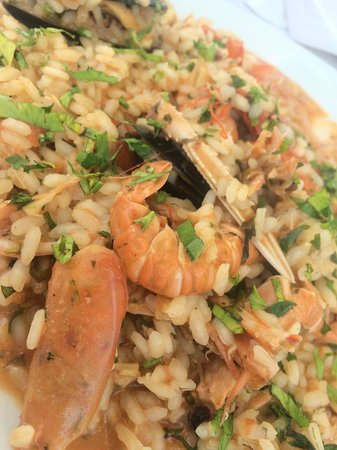 Luna Rossa: Lovely Seafood Risotto