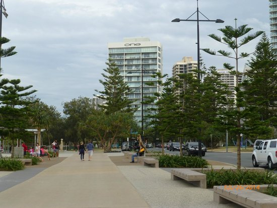 One The Esplanade: View from Surfers Paradise