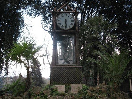 Водяные часы в Пинчо orologio ad acqua nel pincio Фотопрогулки